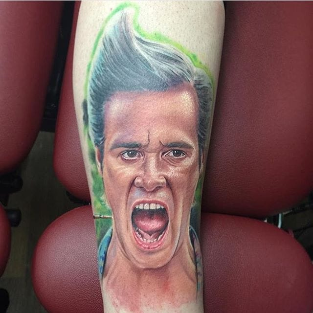 10 Energetic Ace Ventura Tattoos