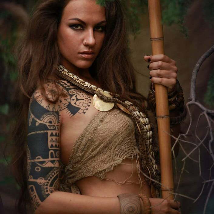 Dmitry Babakhin: Polynesian Tattoos From Russia