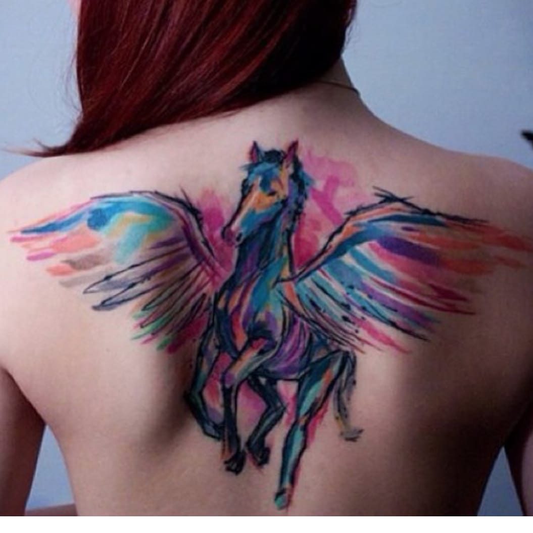 Why Watercolor Tattoos Won T Stand The Test Of Time Tattoodo