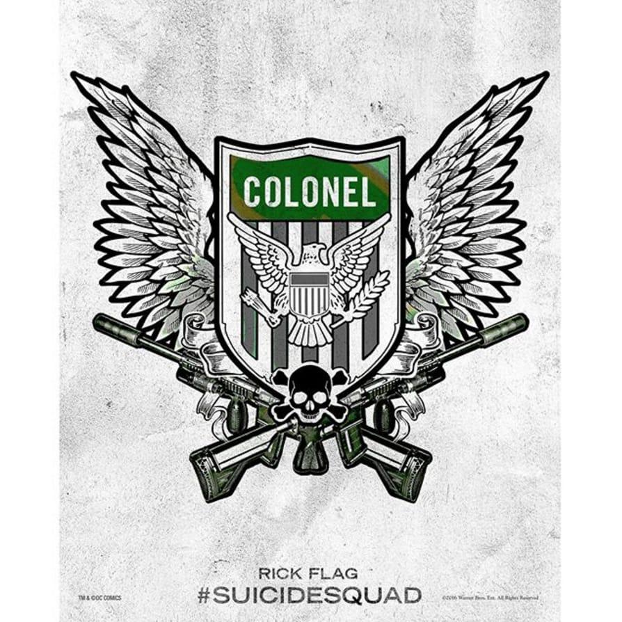 via @joelkinnaman #SuicideSquad #HarleysTattooParlour #colonel #rickflag
