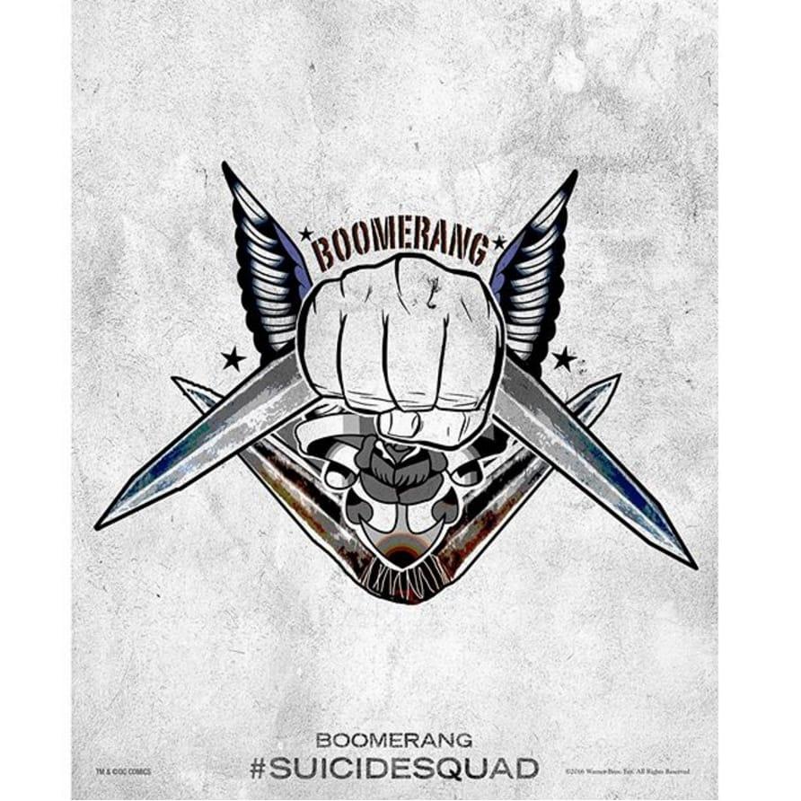 via @jaicourtney #SuicideSquad #HarleysTattooParlour #boomerang
