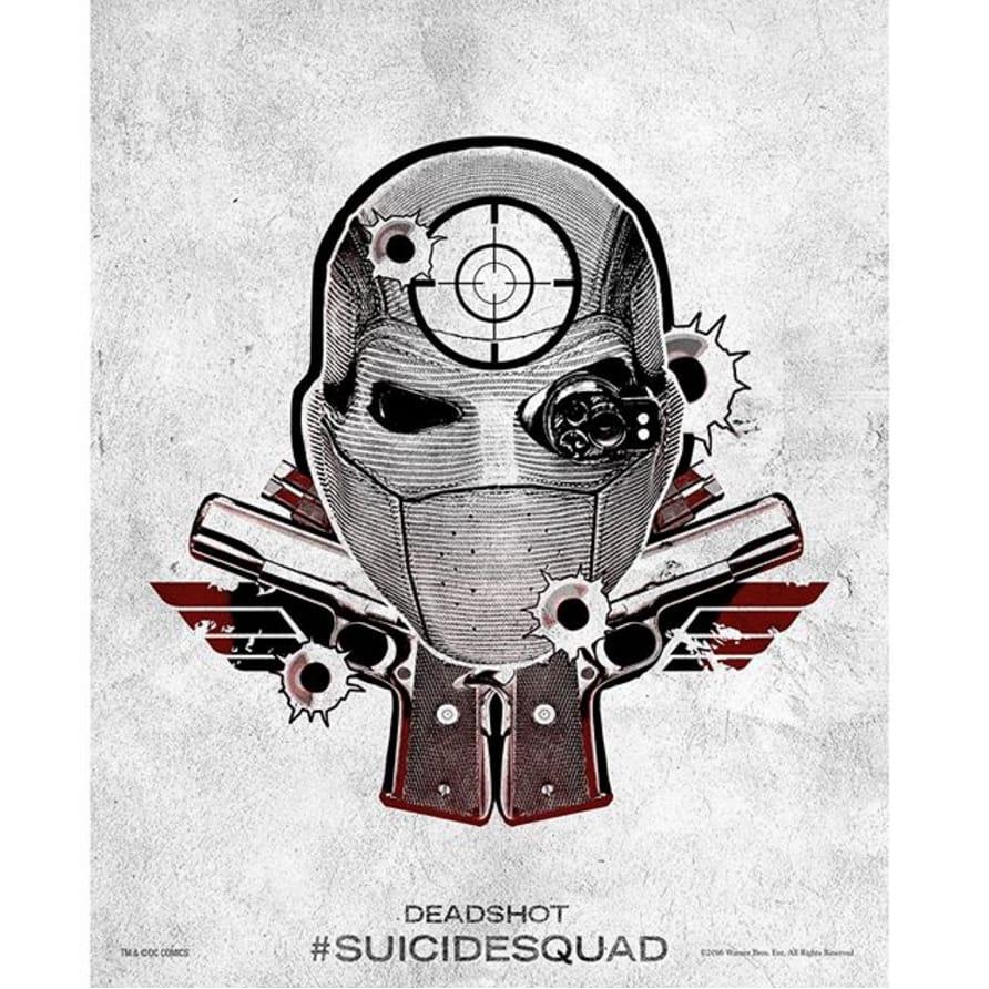 via @suicidesquad #SuicideSquad #HarleysTattooParlour #deadshot