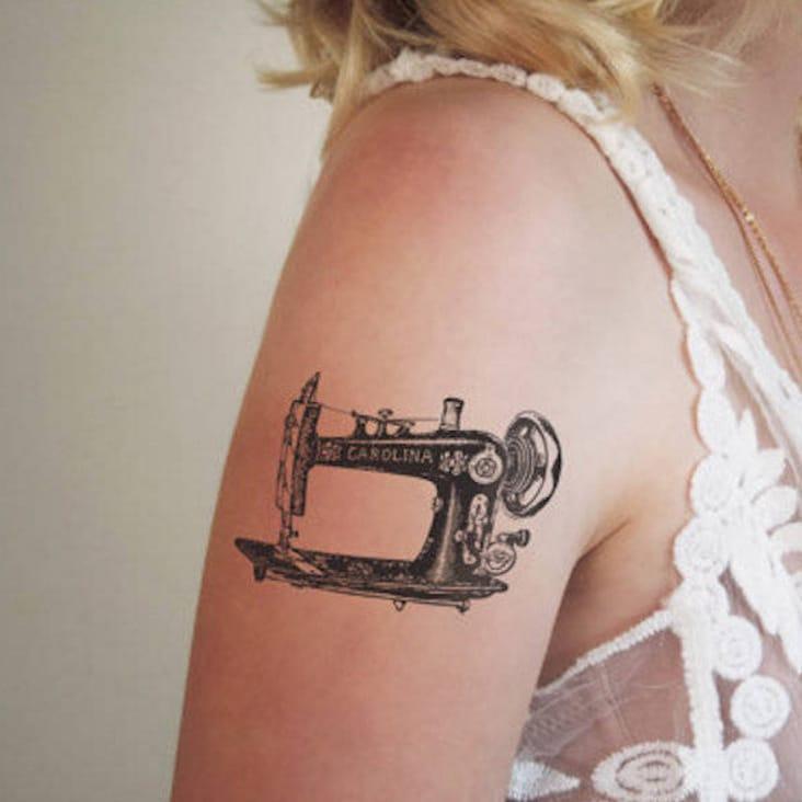 Wilma Boekholt's Retro Temporary Tattoos