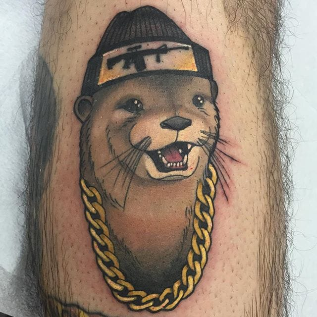 12 Fancy Otter Tattoos