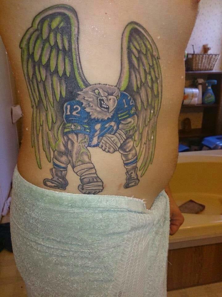 Seattle Seahawks Tattoo