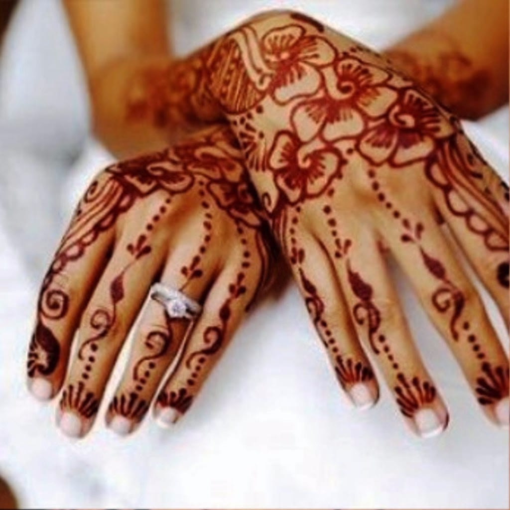 Inspiration henna tattoo designs tattoodo for Henna tattoos locations