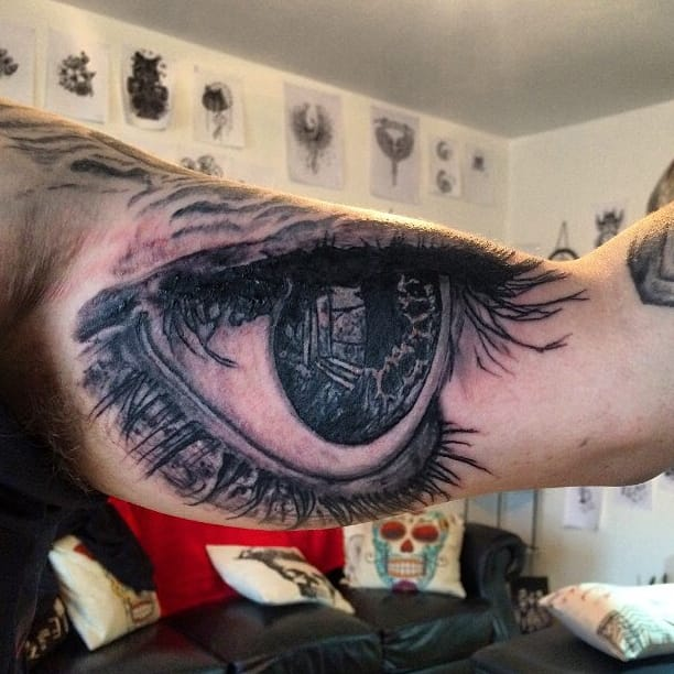 Have A Look At These Hypnotizing Eye Tattoos