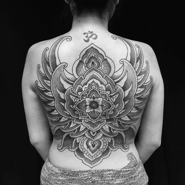 Indonesian Tattoos By Ade Itameda