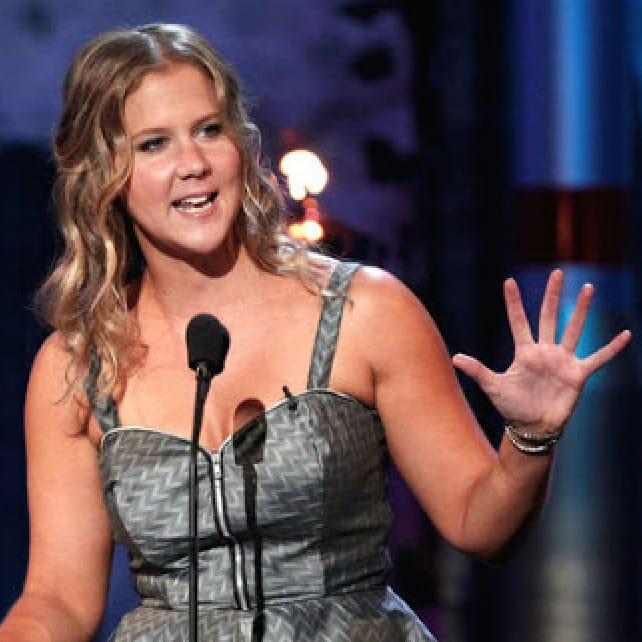 "VIDEO: Amy Schumer Calls Mike Tyson's Face Tattoo ""Slutty"""