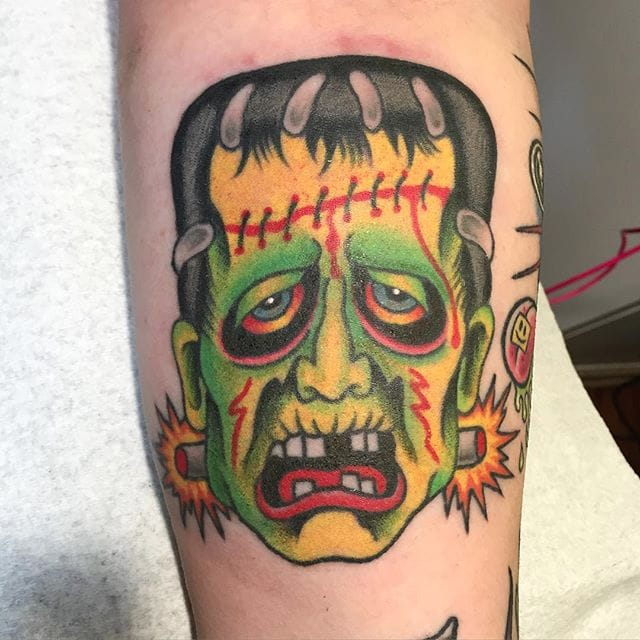 11 Scary Frankenstein's Creature Tattoos