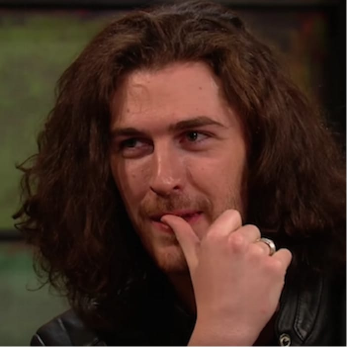 Hozier on The Late Late Show.