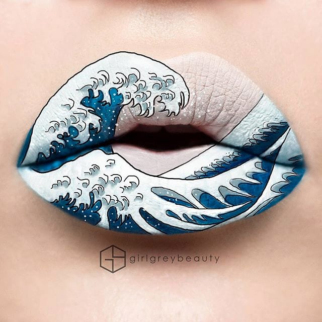 Tattoo-Inspired Lip Art And More By Andrea Reed