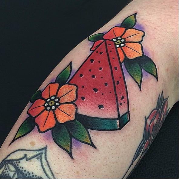 10 Fresh Melon Tattoos