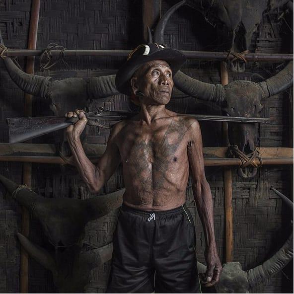 Konyak Naga Tribe: Last Of The Tattooed Headhunters!