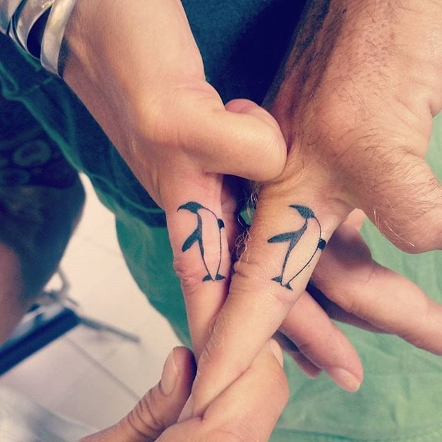 Get Down With These Couples' Tattoos