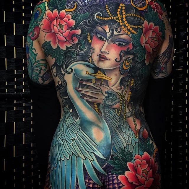 Badass Japanese-Inspired Ladies By Claudia de Sabe