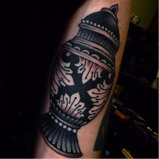 8 Commemorative Urn Tattoos