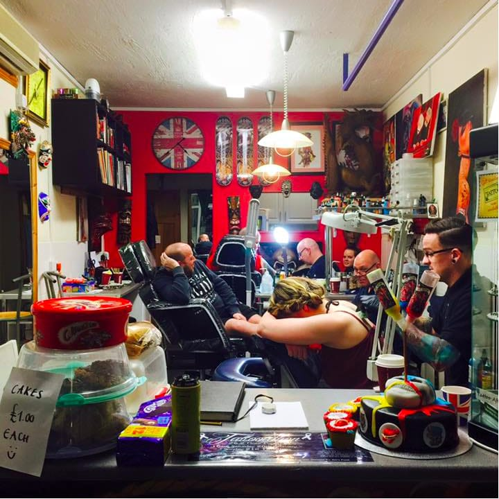 Plymouth-Based Tattooathon Raises Money For Man Battling With Cancer