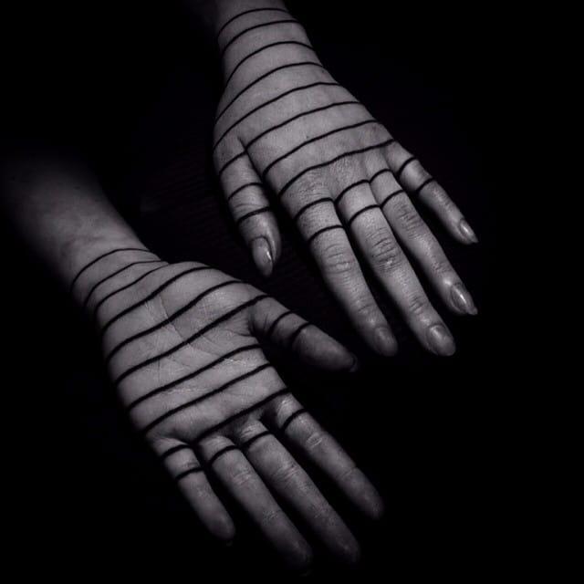 Rich Blackwork Hand Tattoos by MXW (Warren Morissens)