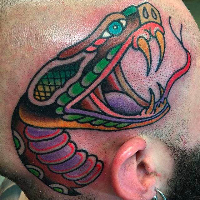 Solid And Colorful Tattoos By Billy White