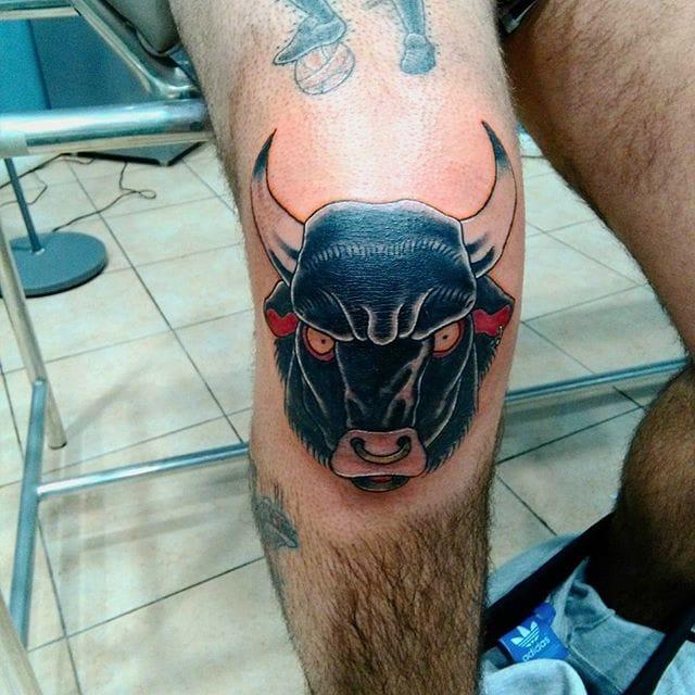 14 Fierce Bull Tattoos