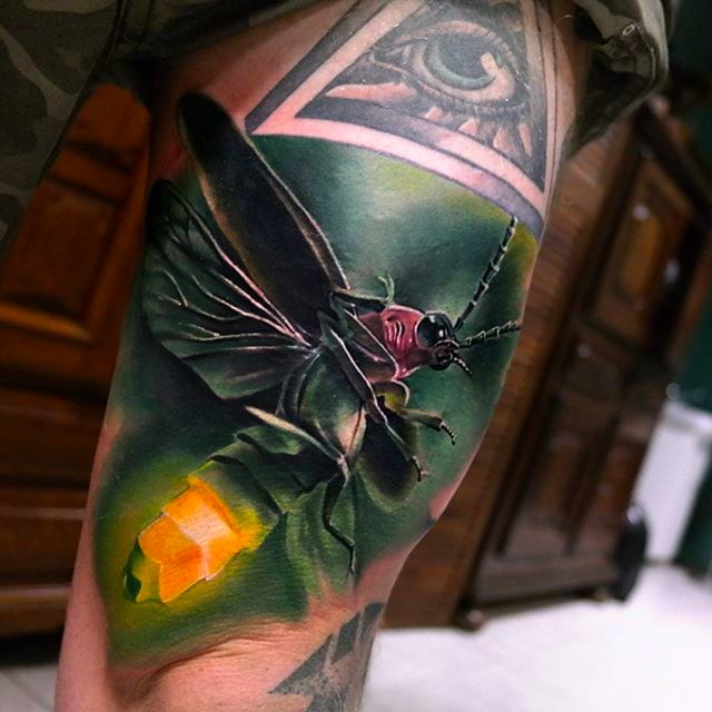 Incredible Animal Tattoos By Sandra Daukshta