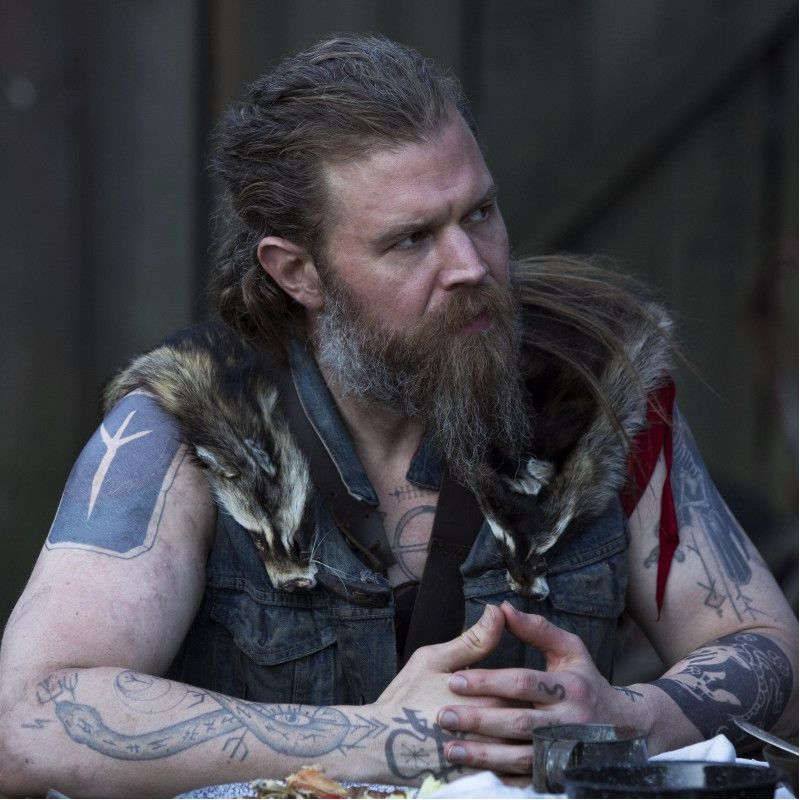 Sons of Anarchy's Ryan Hurst Uses Tattoos as Foundation For Characters
