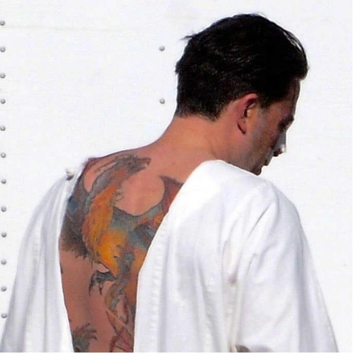 Ben Affleck's infamous backpiece #backpiece #celebrity #BenAffleck