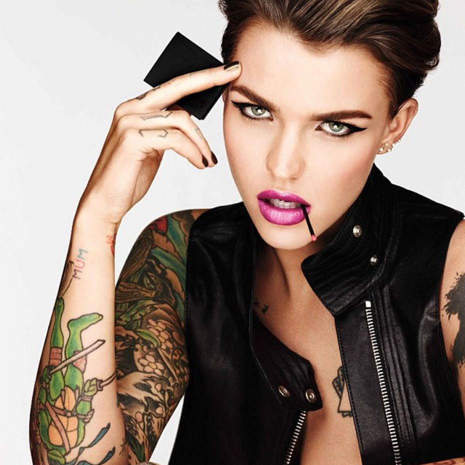 Ruby Rose for Urban Decay #RubyRose #UrbanDecay
