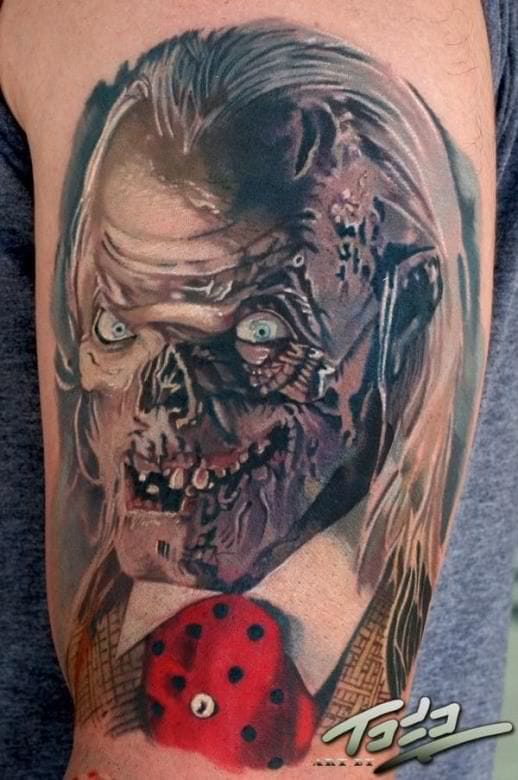 The Crypt keeper (Tales from the Crypt) tattoo