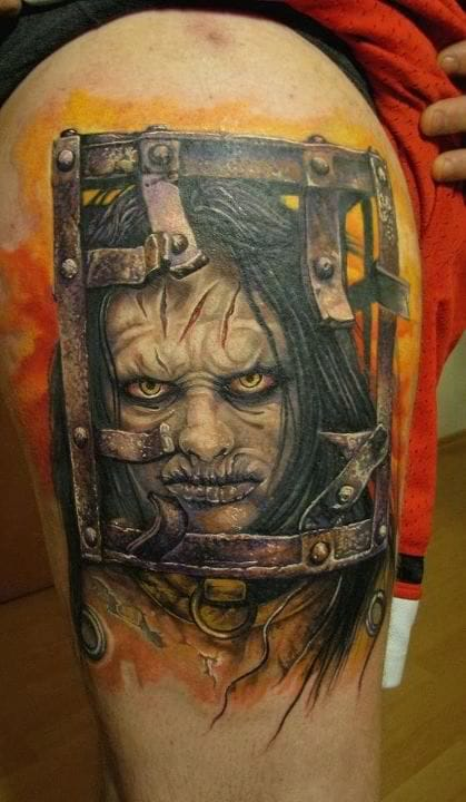 13 Ghosts tattoo