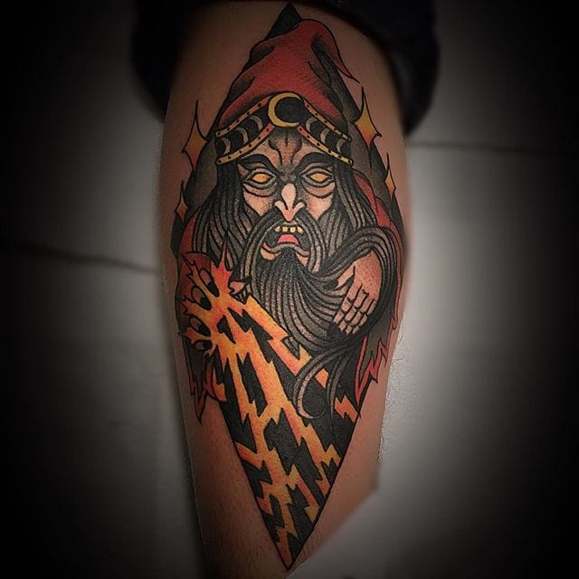 10 Mystical Wizard Tattoos