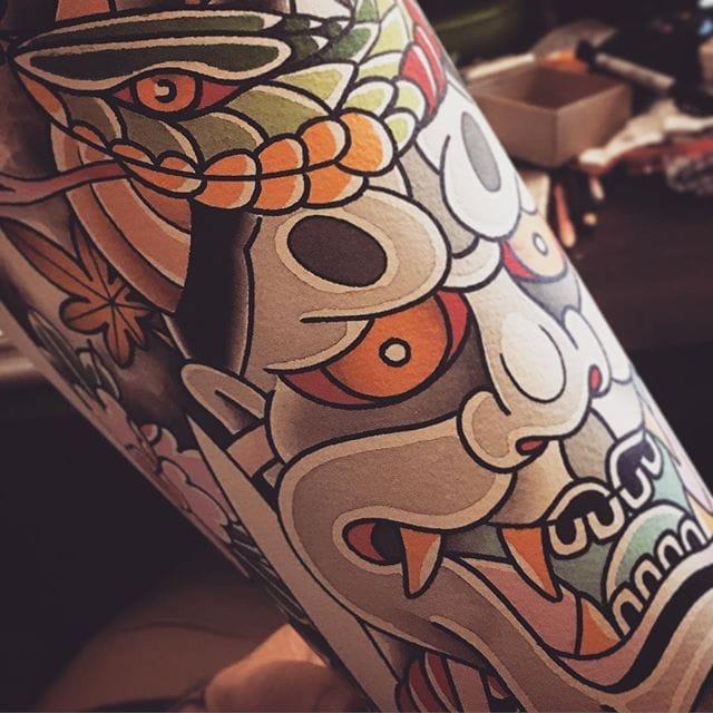 12 Superb Hannya Tattoos