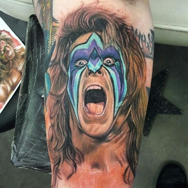 15 Unstoppable Ultimate Warrior Tattoos