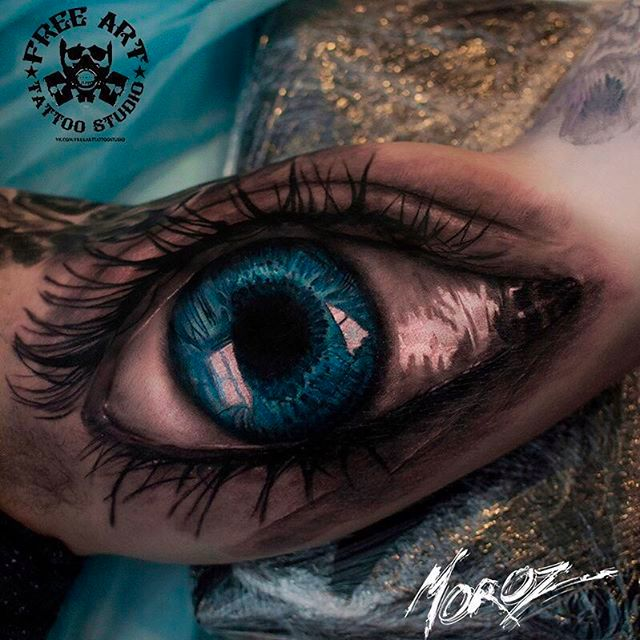 Amazing Realism Tattoos by Alexey Moroz