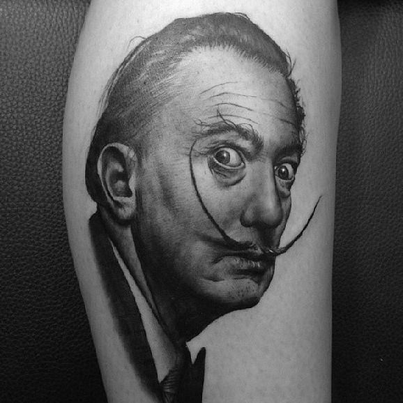 Unreal Portrait Tattoos By Atakan Ustol