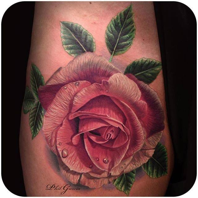 Hyper-realistic Rose made by Phil Garcia. (Instagram:@philgarcia805) #realistic #rose #flower #philgarcia