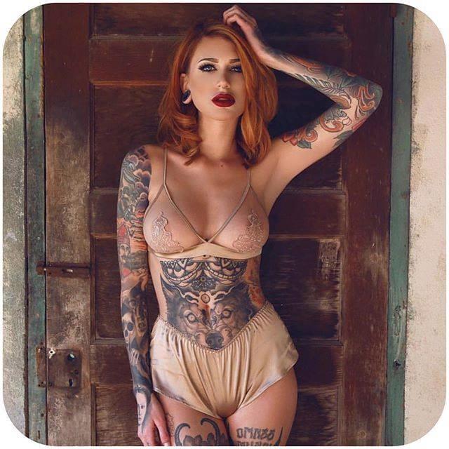 #TattoodoBabes Of The Week: Chelsea Gabrielle, Natalie Jurrjens & More