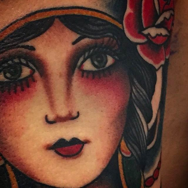 Super Cool Traditional Style Tattoos By J.A. Watkins