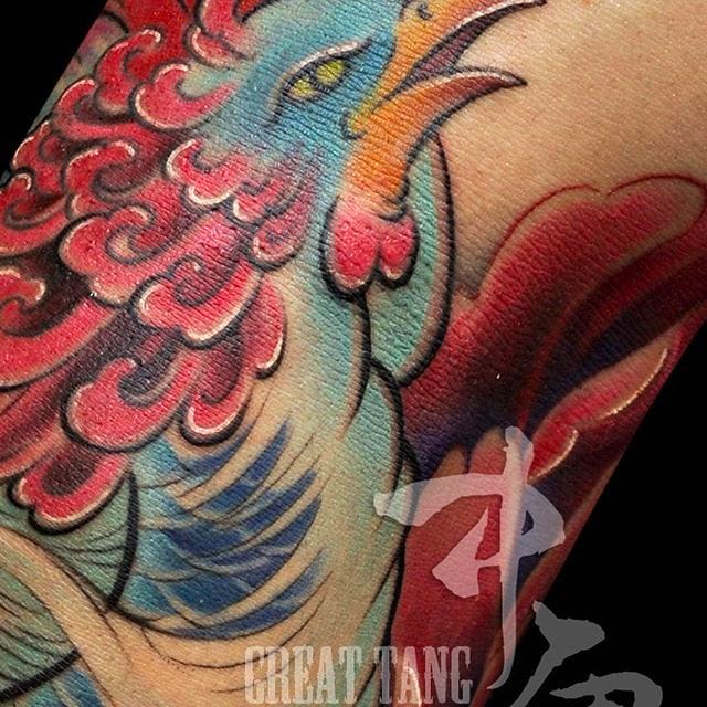Elegant And Vibrant Oriental Tattoos By Meng Xiangwei