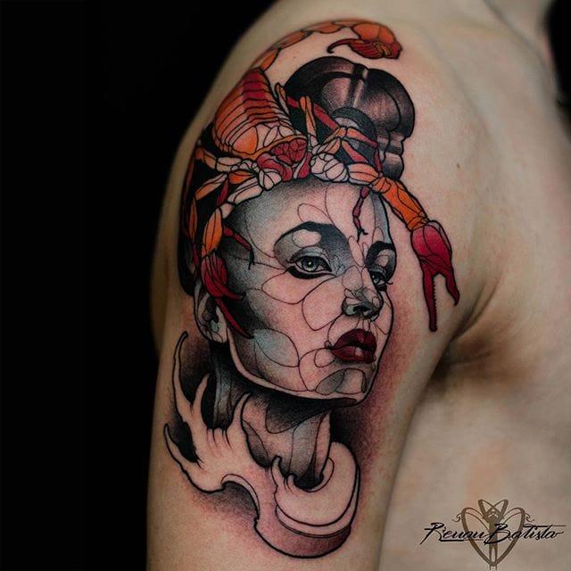 Awe Inspiring Neo Traditional Tattoos from Renan Batista