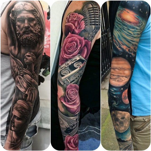 Unbelievably Realistic Sleeves by Joe Carpenter