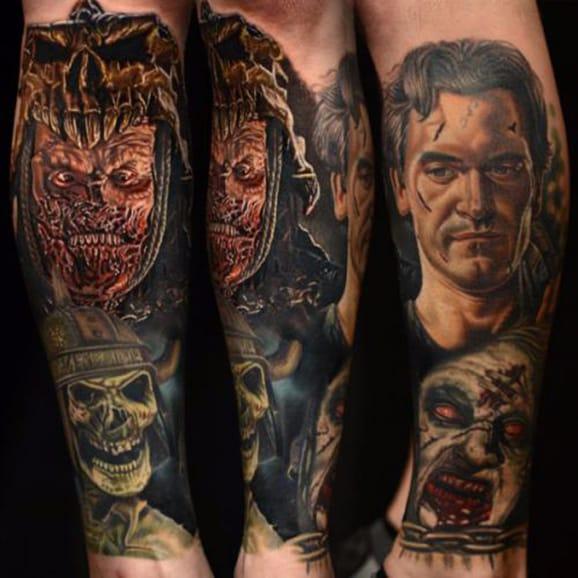 22 Bloody Fantastic Evil Dead Tattoos For Super Fans