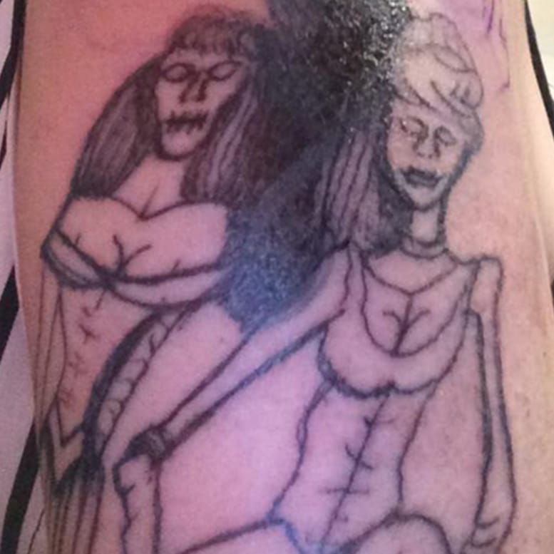 Woman Asks For Disney Princess Tattoo, Gets F***ing Nightmare Instead