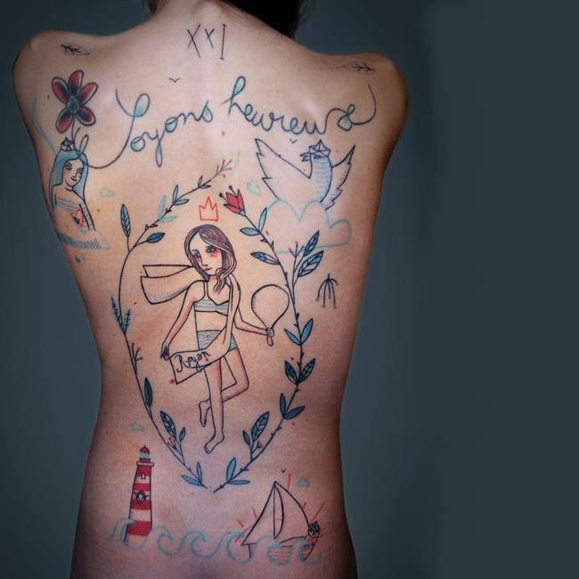 The Fresh Minimalistic Tattoos Of Lionel Fahy