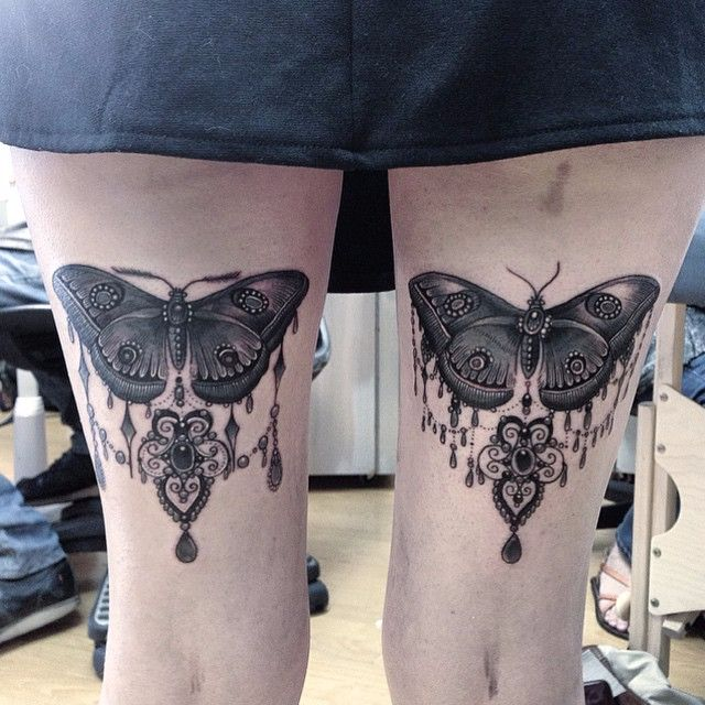 15 Ornate & Feminine Tattoos by Flo Nuttall