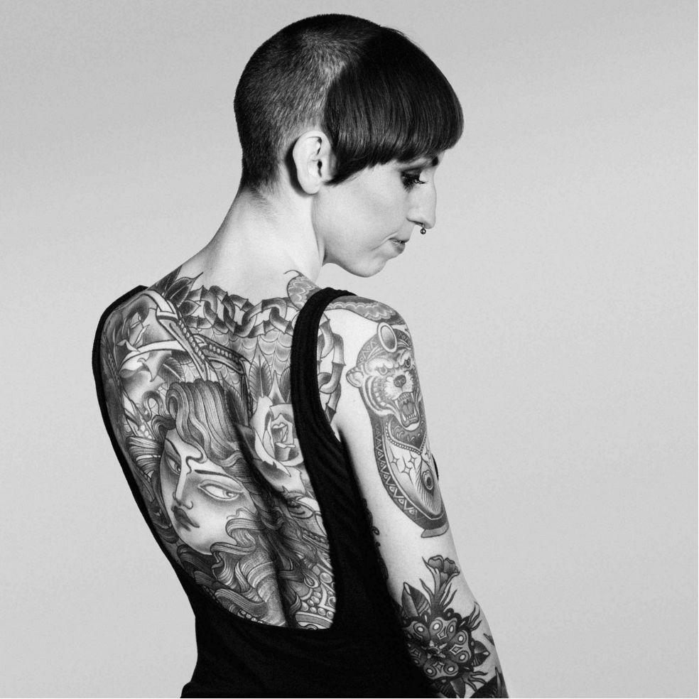 Tattoo Artist Flo Nuttall