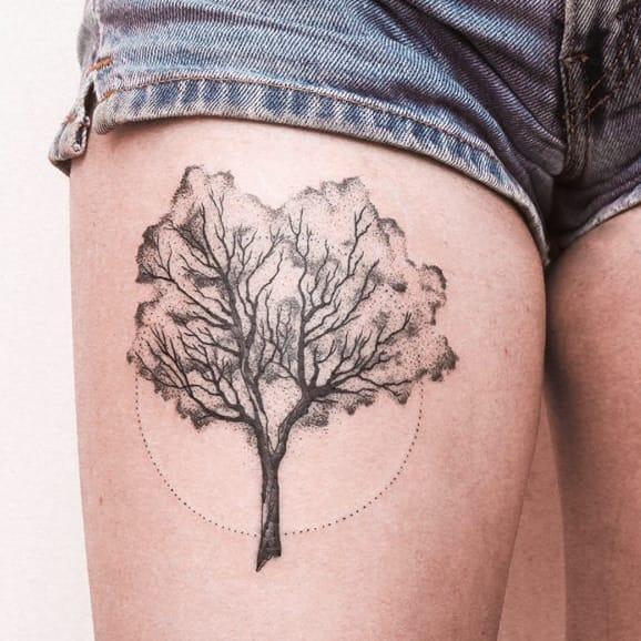 15 Magníficas Tatuagens Fineline De Gabriel Bilotta