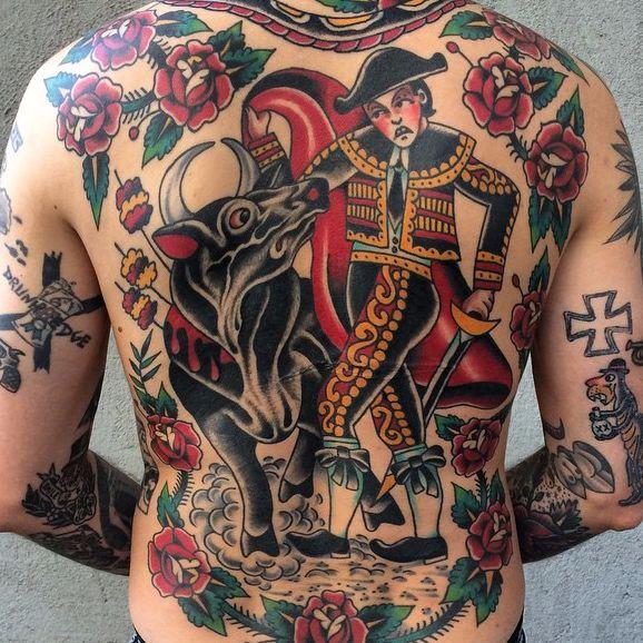 11 Exhilarating Matador Tattoos