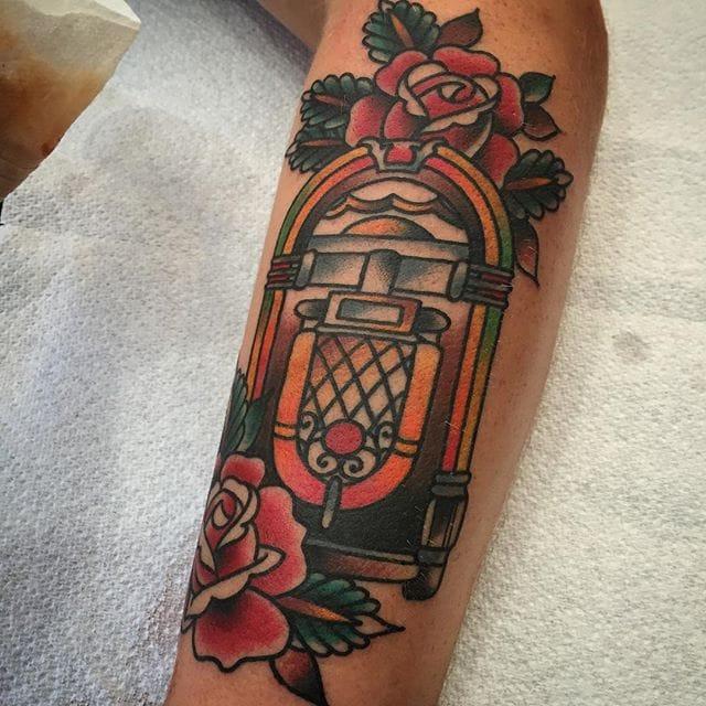 10 Entertaining Jukebox Tattoos